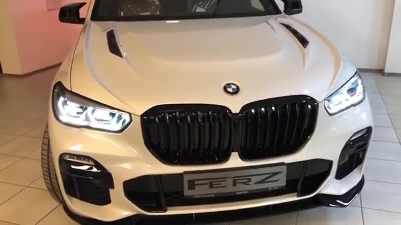 New hood for BMW X5 g05 by FERZ
