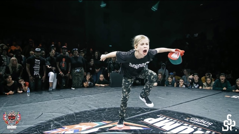 Princess Tchozn vs Girl Slam | Kids Final | EBS KRUMP WORLD CHAMPIONSHIP 2018