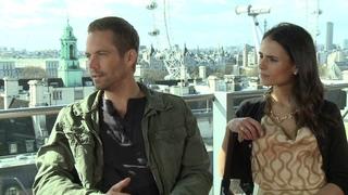 Paul Walker & Jordana Brewster's Fast & Furious 6 Interview Pt.2 -