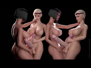 Bloodlust cerene royal descent + [futa, big dick, cum, big tits, porn, 3d, r34, anal]