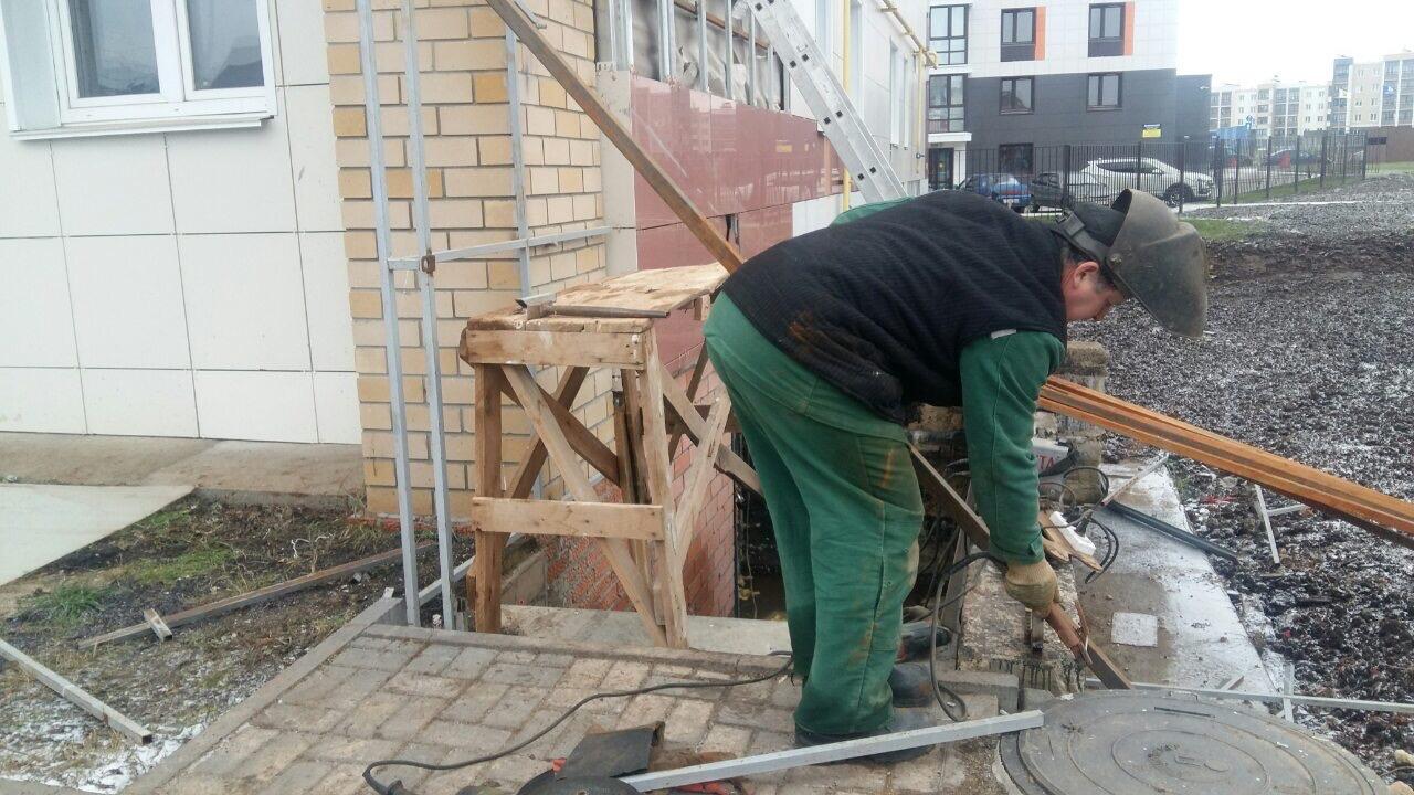 Улица Московская дом 201 ремонт входа в