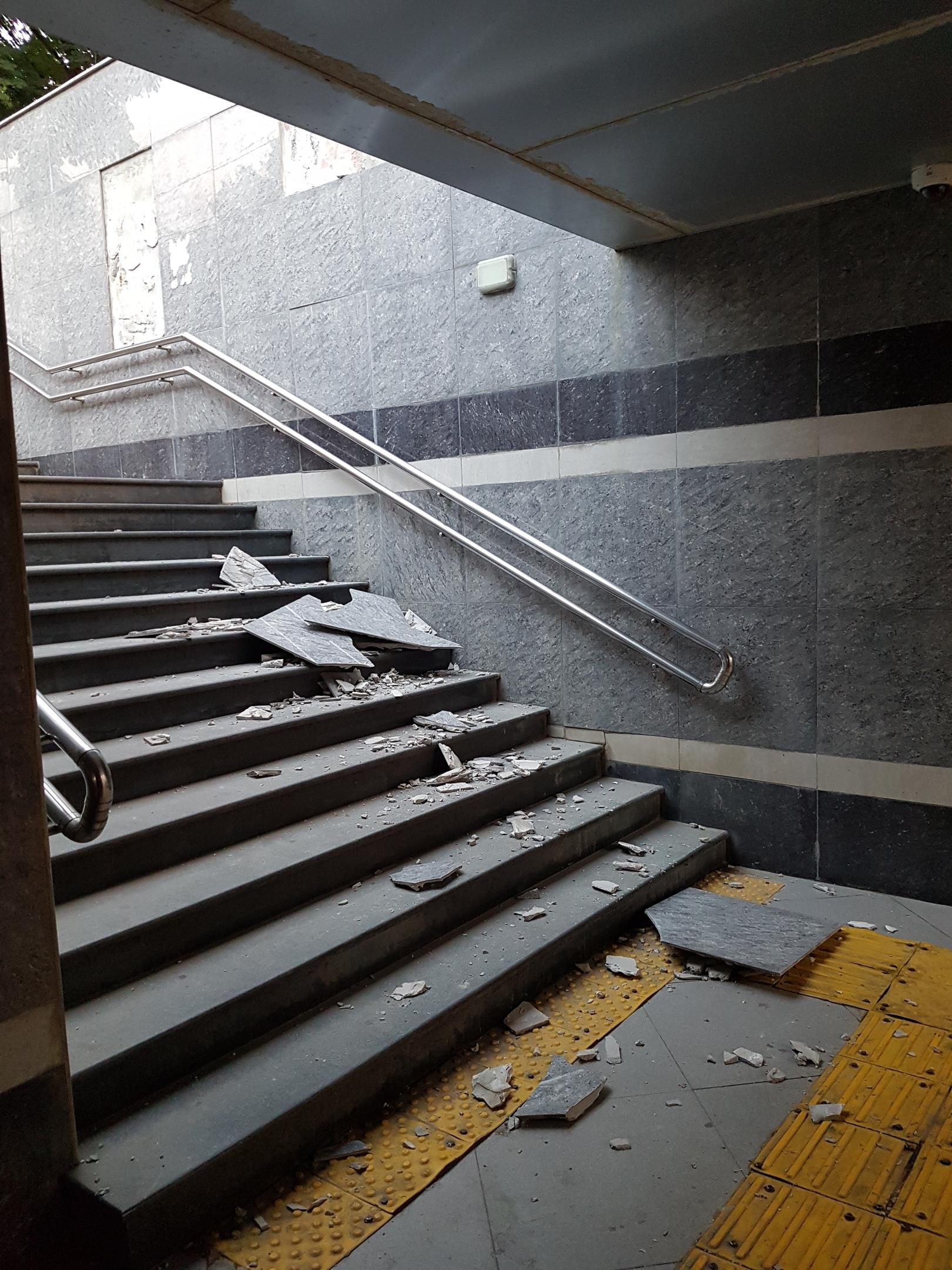 В центре Краснодара отремонтируют 9 подземных переходов