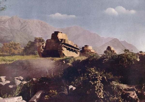 КОХИМСКАЯ БИТВА После оккупации Бирмы в июле 1942 года ситуация на фронте складывалась в пользу японцев. Восточная Индия осталась практически без защиты, а китайские войска в Чунцине оказались в