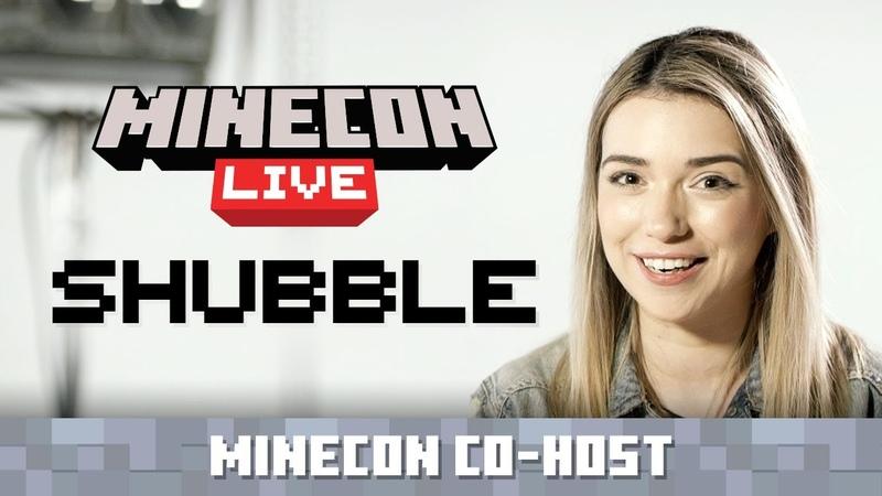 MINECON Live Co-Host Announce: Shubble