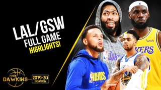 Los Angeles Lakers vs Golden State Warriors Full Game Highlights | October 5, 2019