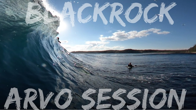 PERFECT BLACKROCK The Arvo session part 2 2 Bodyboarding POV