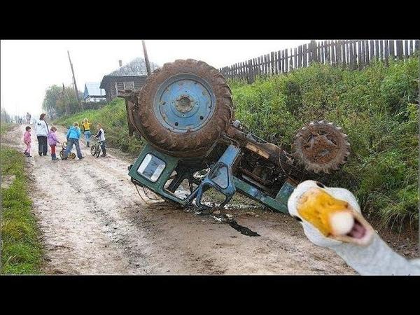 Деревенская песня про трактористов о жизни о любви про дороги про трактора про колхоз