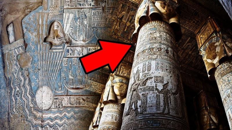 Versteckte Botschaft Im Alten Ägyptischen Tempel Entdeckt