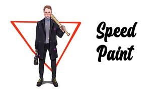Рисую подписчика / Draw my follower / Speedpaint (Procreate)