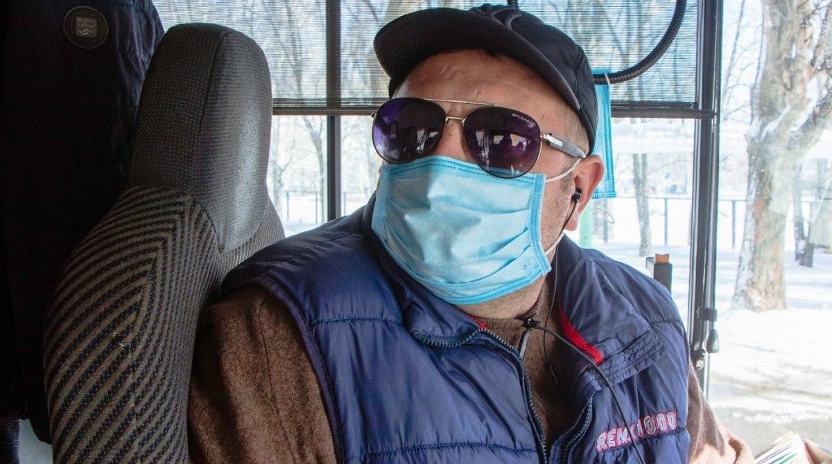 С 18 марта в маршрутки, троллейбусы и трамваи Киева не будут пускать пассажиров без масок