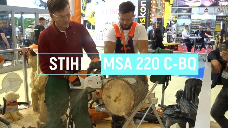 STIHL MSA220 C BQ и STIHL MSA161T
