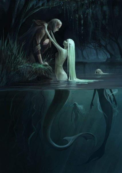 Русалочка: страшная сказка Старые морские легенды рассказывали принцу с самого детства. Слышал он о морских духах, которые если их завербовать будут предупреждать о невидимых рифах, о призрачных