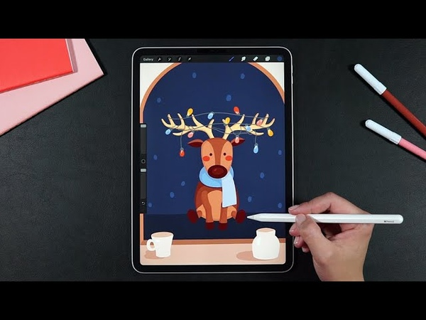 Winter Animation with Procreate 5