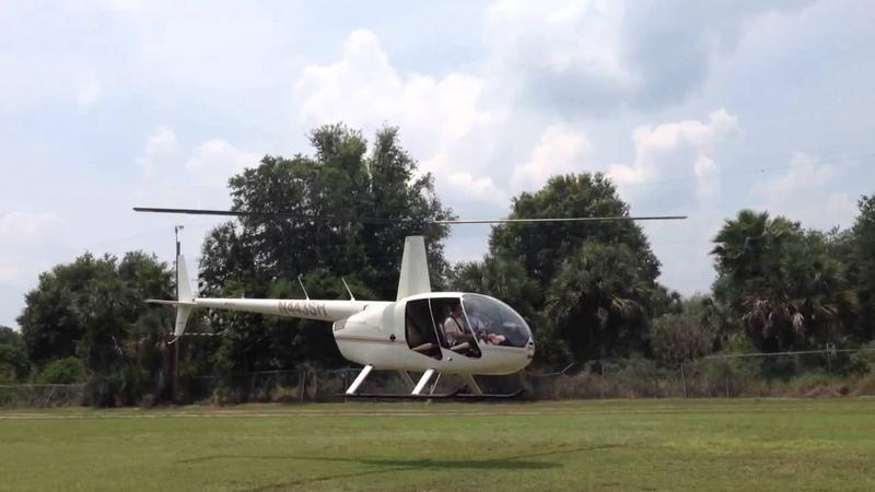 R44 Hover Auto rotation