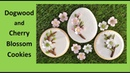 Dogwood Cherry Blossom Decorated Cookies with Nicholas Lodge