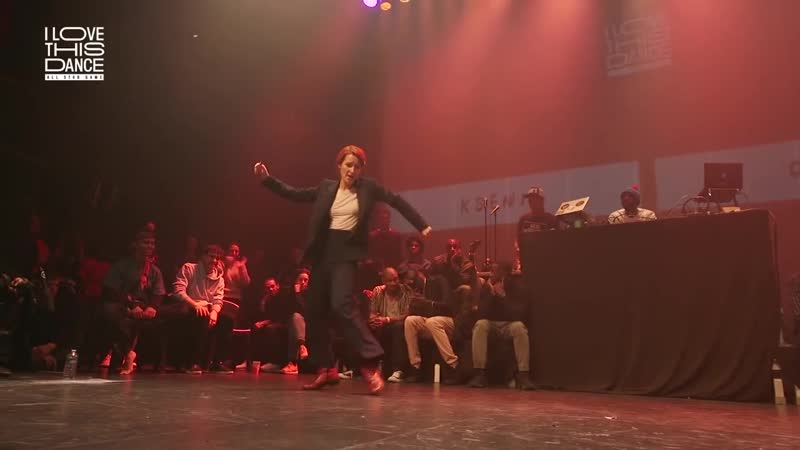 Ksenia Parkhatskaya mesmerizing the hiphop crowd During the great event I Love This Dance in Paris