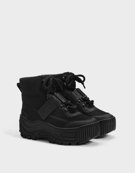 Высокие ботинки-хайкеры