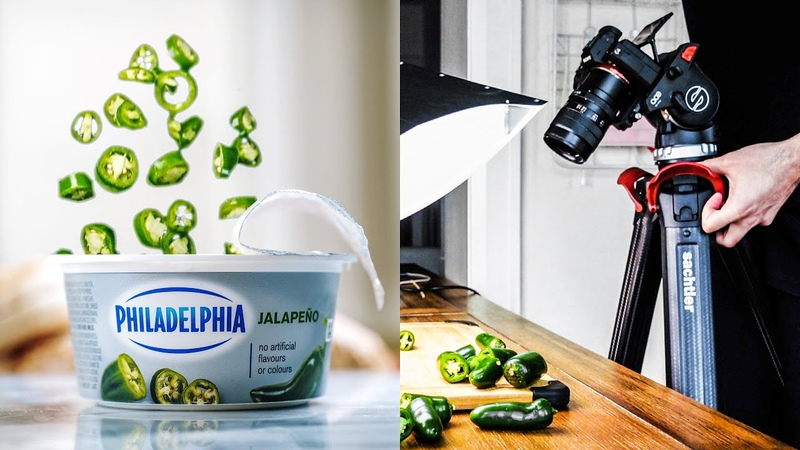 Filming a SPICY Commercial with JUST A TRIPOD!   Behind the Scenes