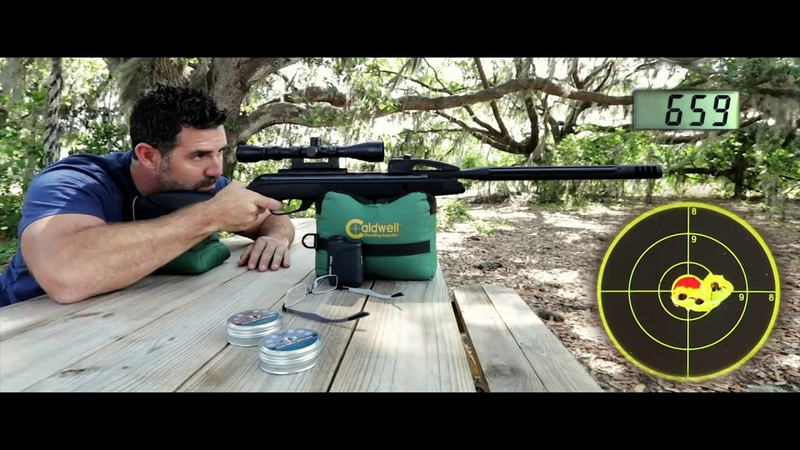 GAMO Swarm 10X Technology 10 Quick Shots From A Breakbarrel Air Rifle