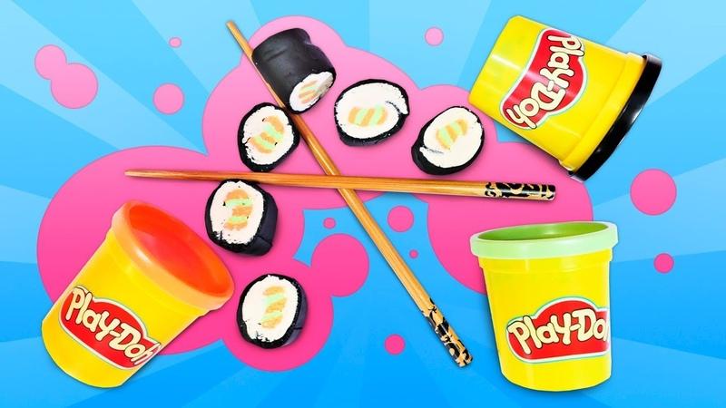 Hamur oyunları Play Doh suşi Oyun hamuru ile okul öncesi etkinlikleri