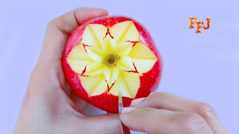 5 Beautiful Fruit Arts Tricks DIY Fruit Slice Cut Carve Decor Design