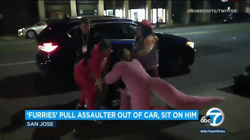 Fists of Furry: Costumed conventioneers rescue woman from assault | ABC7