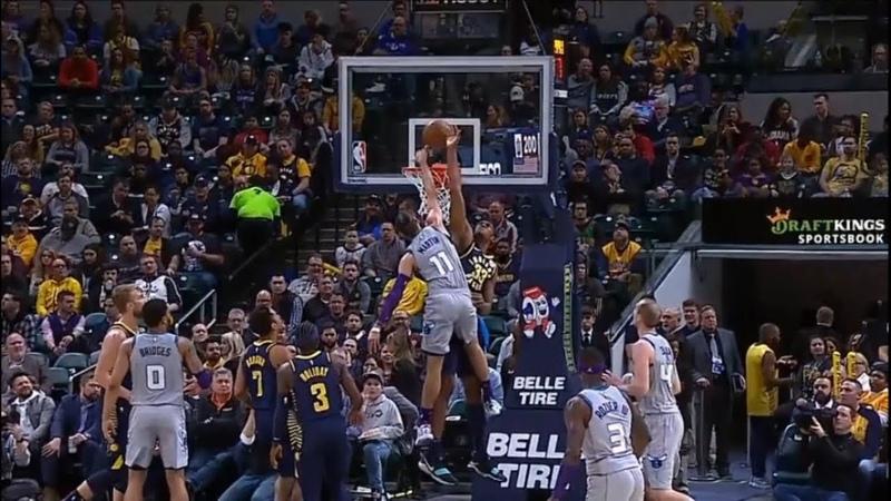 Myles Turner career high 8 blocks Pacers vs Hornets