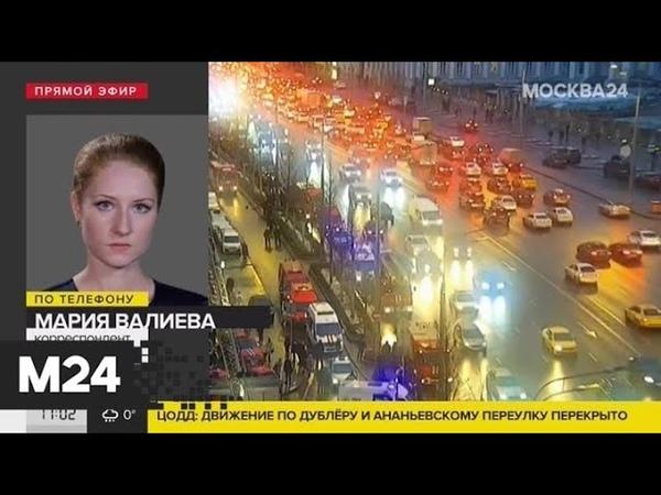 Движение в районе Большой Сухаревской площади затруднено из-за пожара - Москва 24