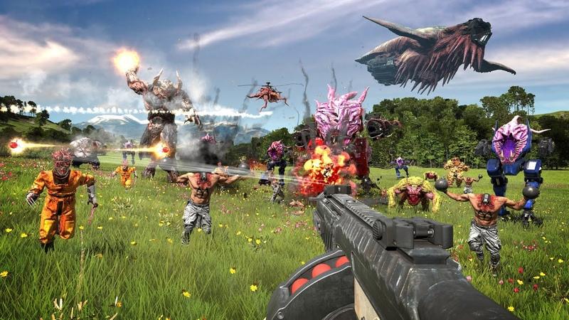SERIOUS SAM 4 Planet Badass Official Announcement Trailer Gameplay Screenshots 2020