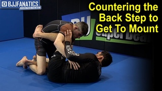 Countering the Back Step to Get To Mount by Lucas Leite