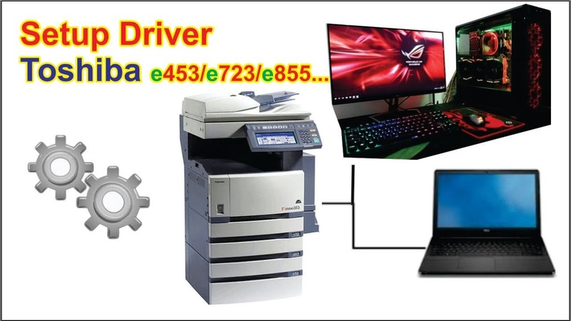 Setup Driver Toshiba e2xx 3xx e453 e723 e855