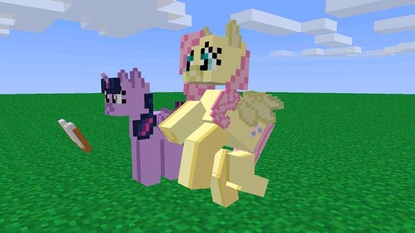 игры майнкрафт пони для девочек для компьютера #7