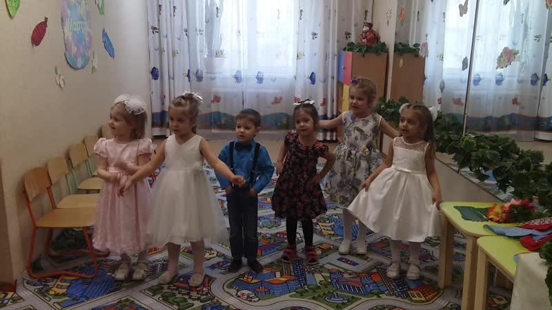 Песенка о бабушке Утренник к 8 марта в средней группы садика АБВГДейка март 2020