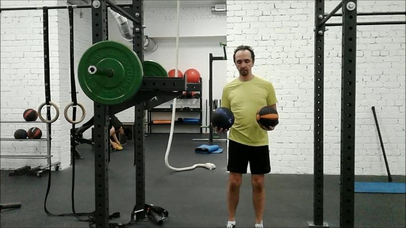 Мячи разного веса и мозг