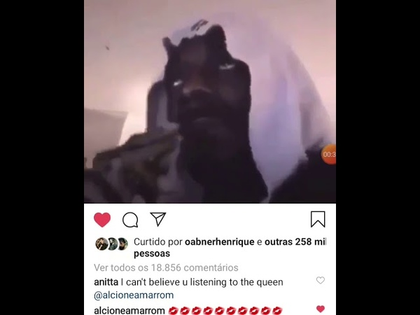 Snoop Dogg curtindo Alcione