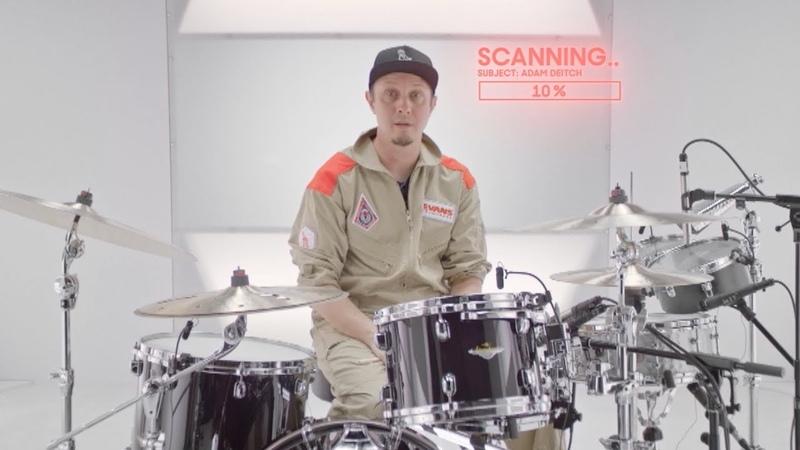 Adam Deitch: Percussion Test Subject AD-002 | Evans Drumheads