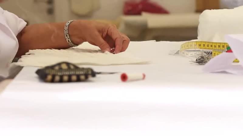 Tony Ward Making of - Jane Zhang Wedding Dress