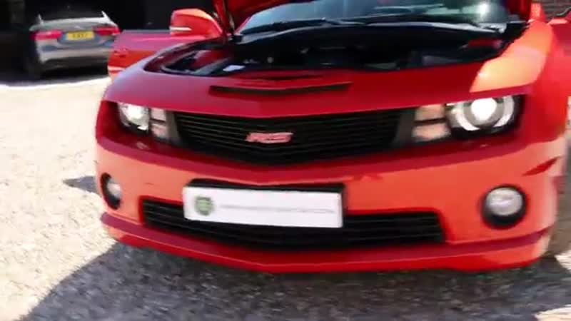 Chevrolet Camaro SS RS 6.2 V8 2dr Automatic LHD in Inferno Orange 2013