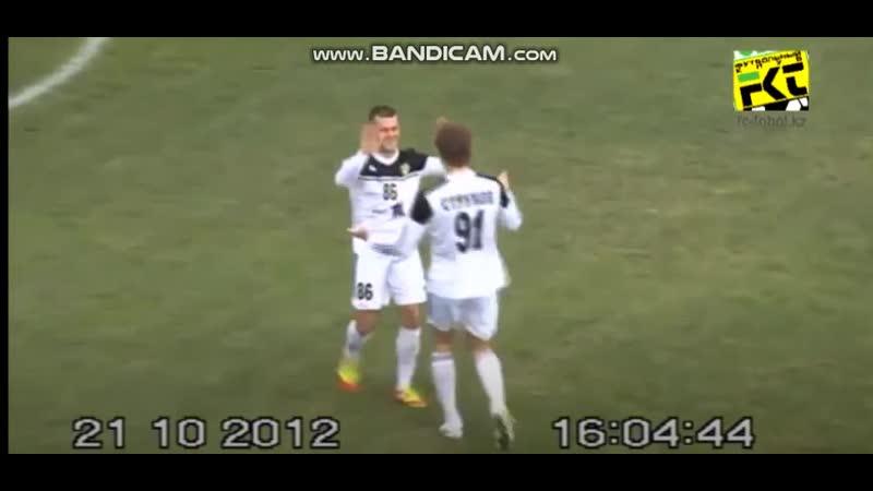 25 tour KPL 2012 Tobol Akzhaik Alexsandr Andreev goal