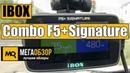 IBOX Combo F5 (PLUS) Signature обзор комбо видеорегистратора