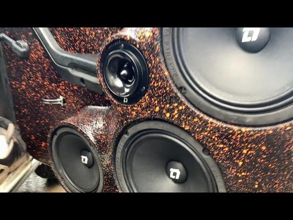 Громкий фронт в ВАЗ 2105 на компонентах DL Audio Phoenix Hybrid Neo 200 Phoenix Hybrid Neo 165