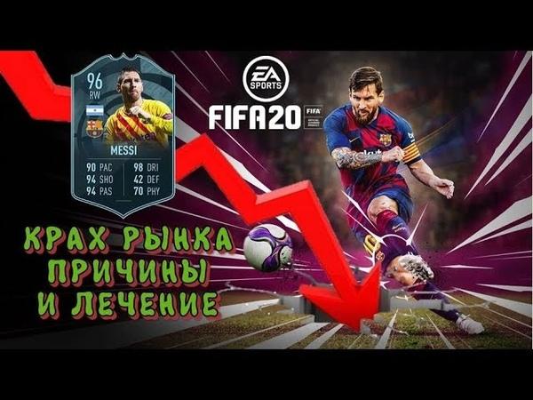 FIFA 20 Крах рынка причины и лечение