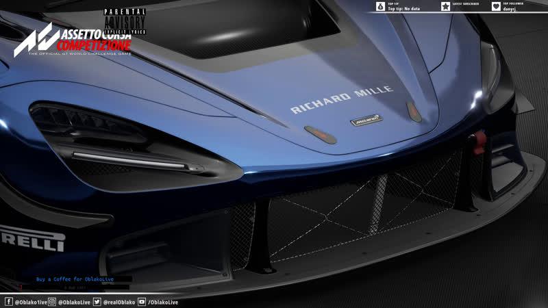 На сухую ищём SA60 TMX Pro Assetto Corsa Competizione