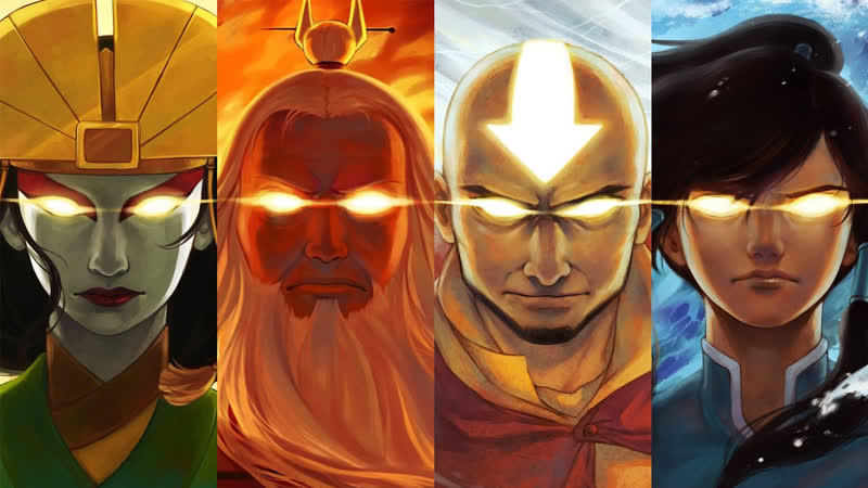 Avatar The Last Airbender - Everyones a badass until Avatar Roku arrives.