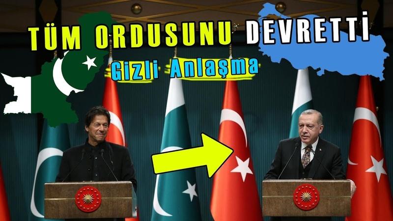 Pakistan Tüm Gücünü Türkiye'ye DEVRETTİ Erdoğan İle Yaptıkları Gizli Anlaşma