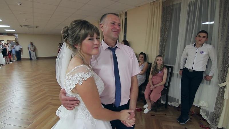 Зворушливо до сліз Донечко весілля в Катерині Погірці доченька відеозйомка відеооператор