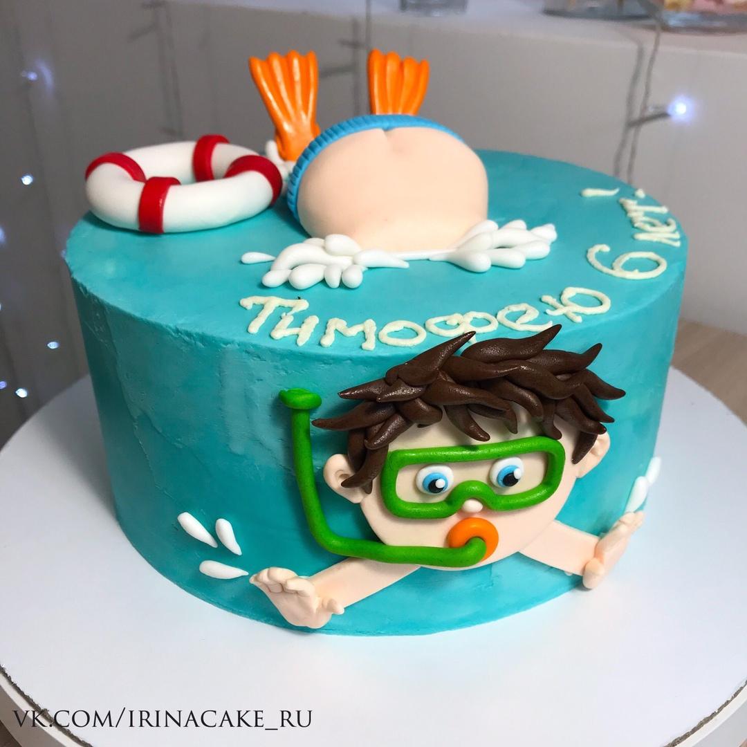 Забавный торт для мальчика (Арт. 532)