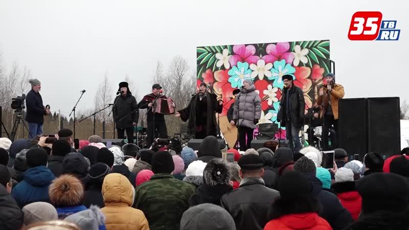 В деревне Ерофейке Вологодского района прошли съемки программы Играй гармонь
