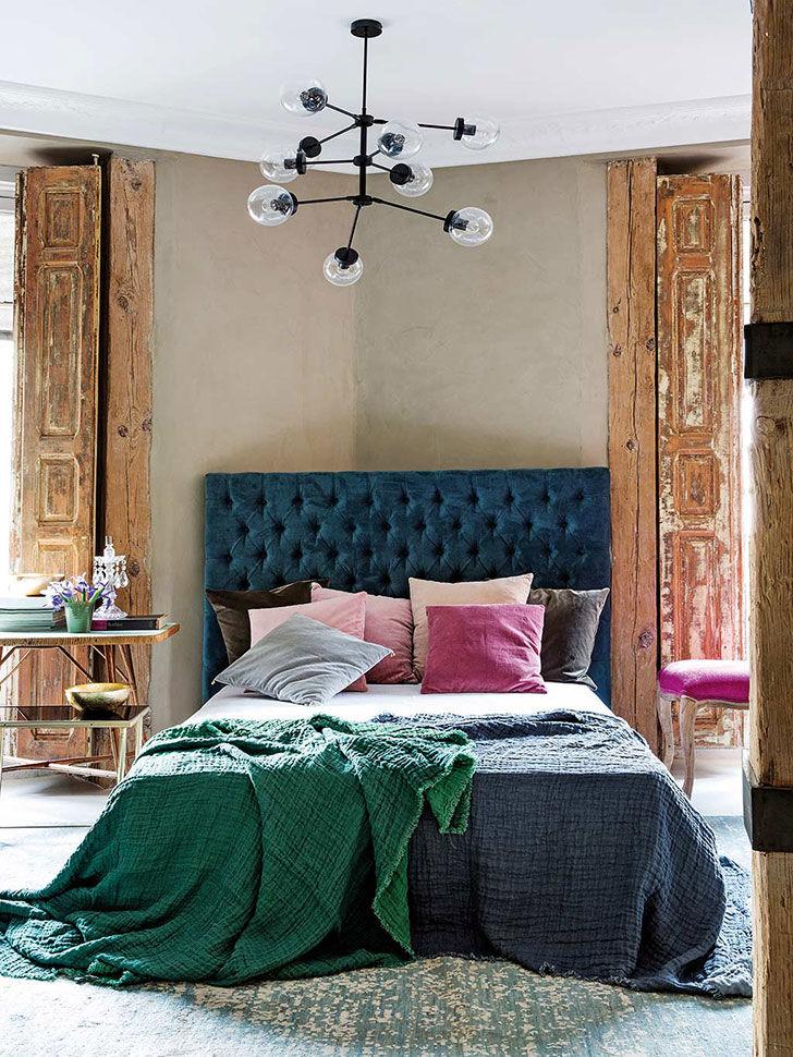 Современная квартира с винтажными акцентами в Мадриде
