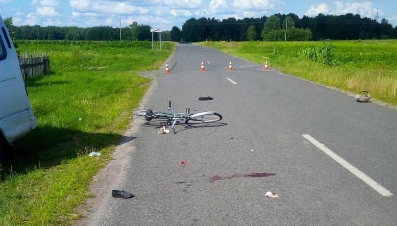 Микроавтобус «ГАЗ 2217» сбил велосипедистку в Лунинецком районе, она скончалась в больнице